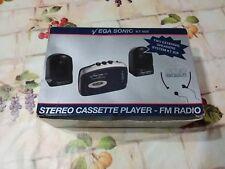 REGALO GESTORI Q8 KT 90X STEREO CASSETTE PLAYER  - FM RADIO VINTAGE