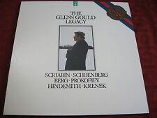 3 LP Box The Glenn Gould Legacy scribian Schoenberg CBS Records Masterworks
