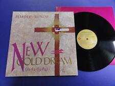 SIMPLE MINDS  NEW GOLD DREAM Virgin 82 A-2UB-2U LP EX/nr EX