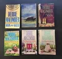 Lot Of 6 Debbie Macomber Paperback Novel Mix Several Series