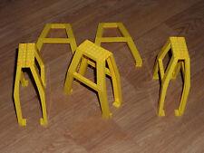 Lego 8 pièces 2635 jaune en bon état sets 4555 / 7243 (kg)