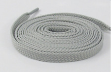 FLAT SHOE LACES approx 140cm - Light Grey - 412 SWS