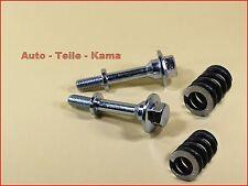 2 x Montage Schrauben + 2 x Feder für Honda Civic ,Abgasanlage /Auspuffanlage