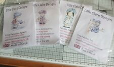 Little Claire Designs Cutie-Patooties. 4 x Stamps