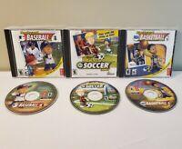 Backyard Baseball 2005 ARod / Backyard Soccer 2004 / Basketball 2004 PC Game LOT