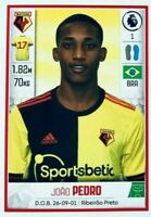 2020-2021 Panini Premier League JOAO PEDRO #U41 Watford 19 YEARS OLD BRAZILIAN