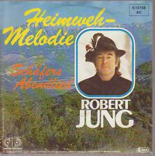 """7"""" Robert Jung Heimweh Melodie / Schäfers Abendlied Telefunken Jupiter 80`s"""