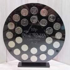 10p pence coin album A-Z Alphabet Great British Coin Hunt Storage Display Case