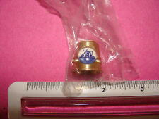 Brass Dollhouse Miniature Thimble new in wrapper