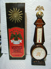 Vintage Avon Weather-Or-Not Decanter With Box
