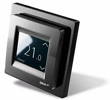 DEVIreg Touch Black - Thermostat für elektrische Fußbodenheizung, Touchscreen