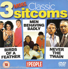 3 MORE CLASSIC SITCOMS (Birds Of/Men Behaving/Never The Twain) (People R2 DVD)