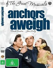 ANCHORS AWEIGH AWAY DVD George Sidney 1945 BRAND NEW! Frank Sinatra Gene Kelly