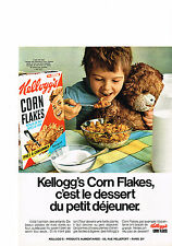 PUBLICITE  1969   KELLOG'S    CORN FLAKES
