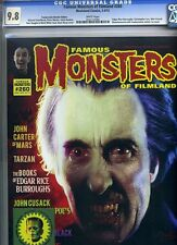 Famous Monsters of Filmland #260 CGC Highest 9.8 NM/MT Christopher Lee w Sticker