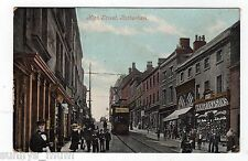 YORKSHIRE, ROTHERHAM, HIGH STREET, 1905