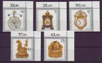 BRD postfrisch MiNr. 1631-1635 Eckrand oben rechts
