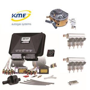 KME Nevo Pro 8 Zylinder Gasanlage Frontkit mit Hana Injektoren bis 240 KW