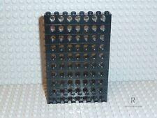 LEGO ® Technic ACCESSORI 10x buco travi pietre 1x8 in nero 3702 r758