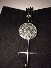 "Aethelred II Moneda WC3 Bufanda, broche y Pin Kilt estaño 3"" 7.5 Cm"