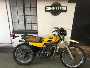 Yamaha DT125 1978 Barn find Restoration Project Spares or Repair 2 Stroke