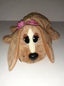 """Pound Puppies HAWAIIAN Puppy Dog 13"""" Plush Stuffed Animal Toy Mattel 1984, 2004."""