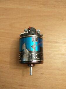 LRP Electronic Vintage brushed motor - Blue SE for CAT RC10 Lazer Losi