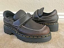 Dr. Martens Women`s Vintage Made in England Mary Janes Loafers Brown ALL SIZES