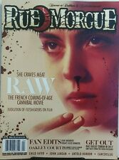 Rue Morgue March April 2017 She Craves Meat Raw Cannibal Horror FREE SHIPPING sb