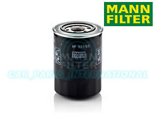 Mann Hummel OE Quality Replacement Engine Oil Filter WP 928/83