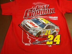 Jeff Gordon #24  NASCAR Racing Hendrick Motorsports  T-Shirt   Small  NEW