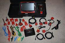 Snap-On D10 VERUS PRO v15.4 Wireless Diagnostic Scanner System Cables HTF CASE