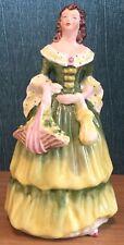 Coalport Small Green Dress Vintage Rosalinda Figurine