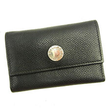 Bvlgari Key holder Key case Black Silver Woman Authentic Used Y5964