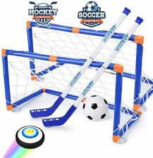 Hover hockey & Soccer set Air Power Training Ball With 2 Goals gift