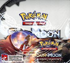 Pokemon Tcg Sun & Moon Burning Shadows Booster Sealed Box - Please Read Desc!