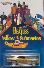 Hot Wheels A MEDIDA '68 copo Camaro THE BEATLES YELLOW SUBMARINE RR LTD 1/25
