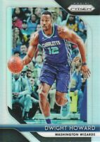 2018-19 Panini Prizm Basketball Silver Parallel #293 Dwight Howard Wizards