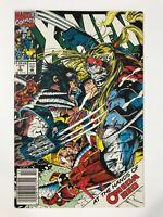 X-MEN #5 (1992)   1ST FIRST FULL OMEGA RED; MAVERICK; NEWSSTAND VARIANT