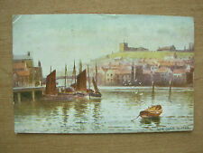 VINTAGE POSTCARD NEW QUAY WHITBY YORKSHIRE 1911