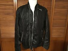 Classic Puma Ducati Motorcycle Lightweight Jacket Men's Size Large Black