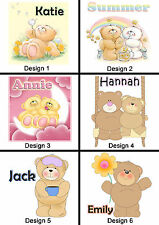 Personalised Teddy Bear Mug - Any Name / Message - Many Designs - Cute Gift Idea