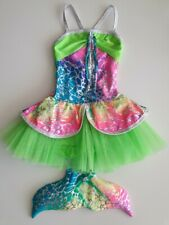 Kinetic Creations Girls Mermaid Tutu Outfit Size 4