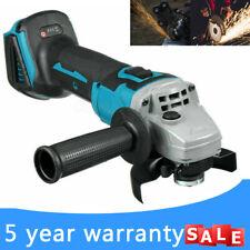 More details for 125mm 18v brushless angle grinder cordless for makita 18v li-ion battery charger