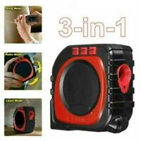 3 in 1 Digital Measure String Sonic Roller Mode Laser Range Tape Tools