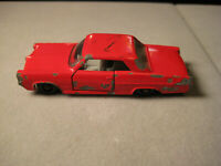 Vintage Lesney Matchbox Pontiac GP Sports Coupe Red No #22