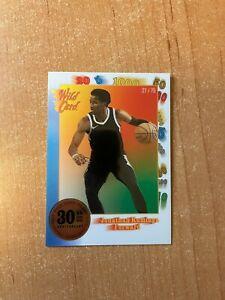 2021 Wild Card National Convention - Jonathan Kuminga Blue 30th Anniversary /75