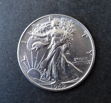 1945-P SILVER WALKING LIBERTY HALF DOLLAR- AU