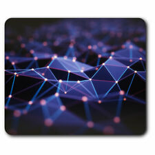 Computer Mouse Mat - 3D Abstract Mountain Terrain Office Gift #21056