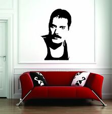 Wall Sticker Decal Vinyl  Interior Design Freddie mercury Queen Music Rock